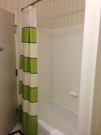 Fairfield Inn & Suites by Marriott Cookeville: Shower