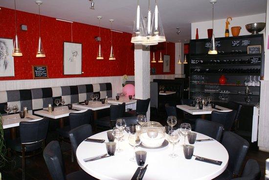 Ricochet : intérieur du restaurant