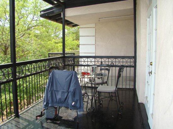 Don Vicente de Ybor Historic Inn: Balcony