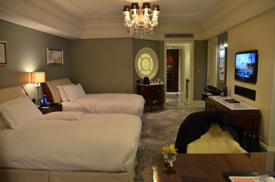 Waldorf Astoria Shanghai on the Bund: Comfy Beds