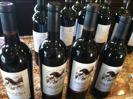 AronHill Vineyards:                                     AronHill Winery