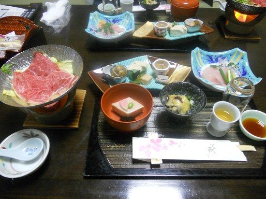 Takayama Kanko Hotel: 夕食