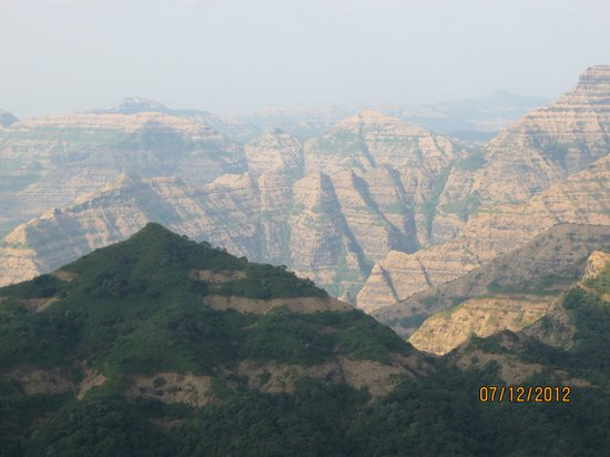 Mahabaleshwar India  city photo : ... canyon of INDIA Foto de Mahabaleshwar Hill Station, Mahabaleshwar