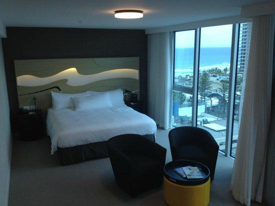 Hilton Surfers Paradise Hotel: Hilton Hotel Room