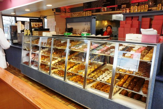Donut Master:                                     Salivating over the donut display case