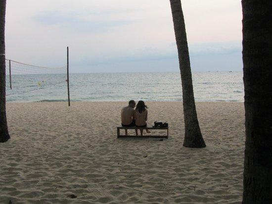 Sea Star Resort Phu Quoc : la plage en début de soirée