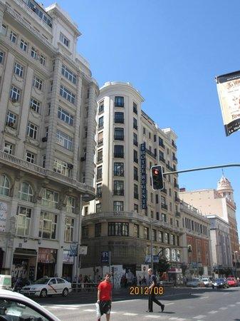 Regente Hotel:                   ホテル レジェンテ マドリード外観
