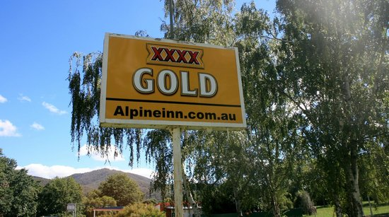 Khancoban, Australia: XXXX gold