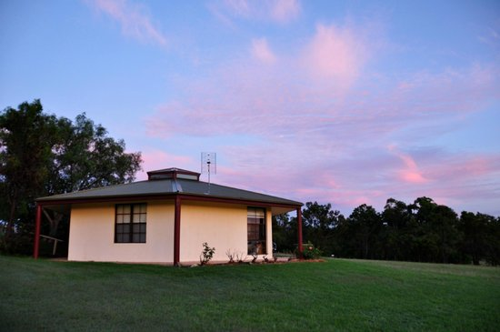Willow Tree Estate: Summer House under pretty sunrise