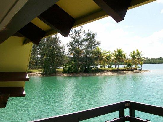 Holiday Inn Resort Vanuatu:                   View from overwater villa