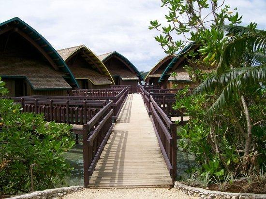 Holiday Inn Resort Vanuatu:                   Overwater villas