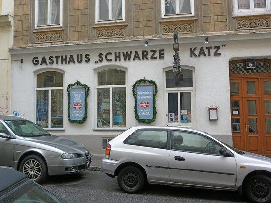 Gasthaus Schwarze Katz: Gutes Griechisches Restaurant
