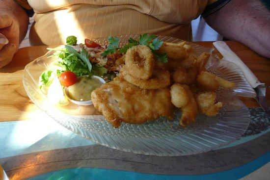 Sealife Centre Restaurant: Seafood Platter