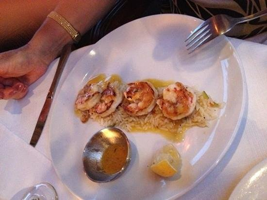 La Perla : The prawns are amazing