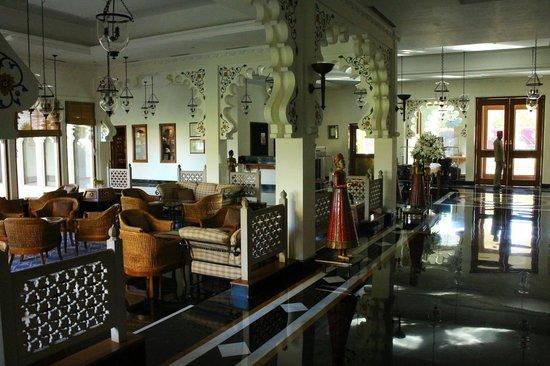 Trident Udaipur: réception accueil