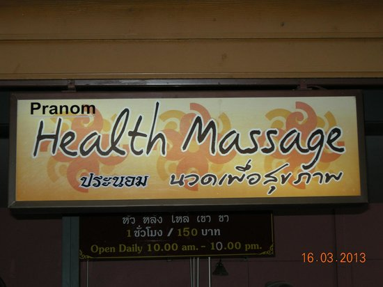 Pranom Health Massage