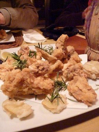 Agriturismo Podere il Poggiolo: Florentine fried chicken