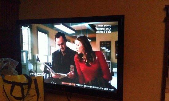Kobos Hotel: ทีวี
