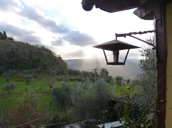 Agriturismo Podere il Poggiolo: Sunrise from the villa