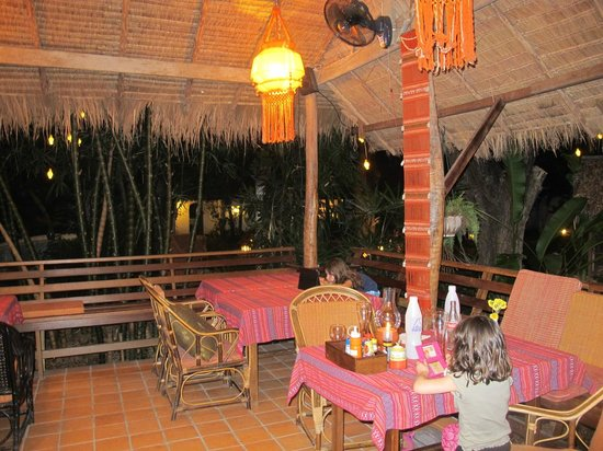 Secret Garden Chiang Mai: Dîner du soir