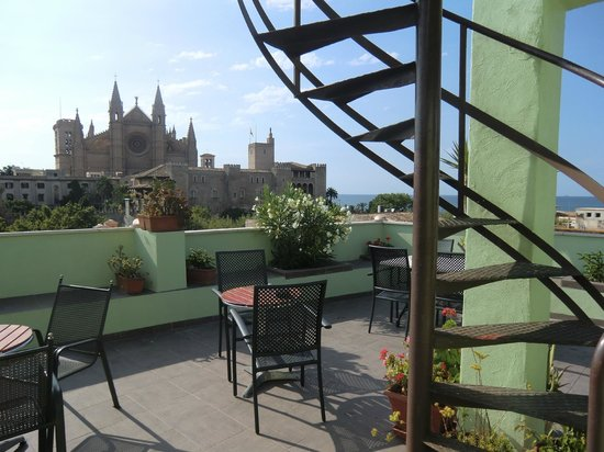 Hostal Apuntadores: The best view in Palma?