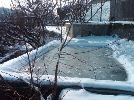 Casa Cantoniera Como: piscina gelata