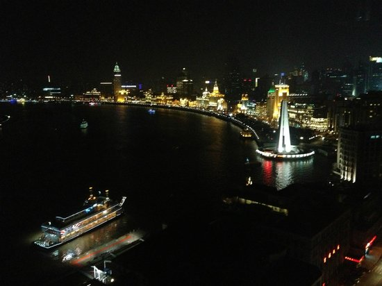Hyatt on the Bund: View from room