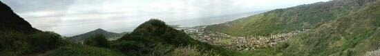 Mariner's Ridge Trail: Panorama view of one of the lookouts