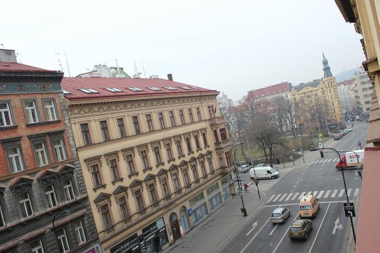 Hotel Praga 1: View from the room