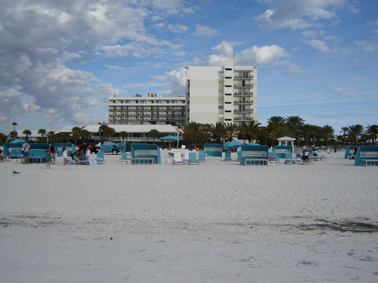 view from harbor view room picture of hilton clearwater. Black Bedroom Furniture Sets. Home Design Ideas