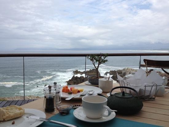 Cliff Lodge: Frühstück mit Aussicht
