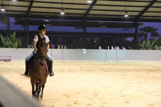 Bali Equestrian Centre: Indoor arena.