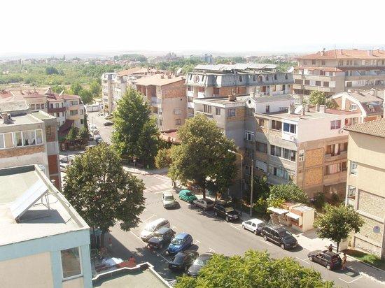 Marieta Palace: widok z okna