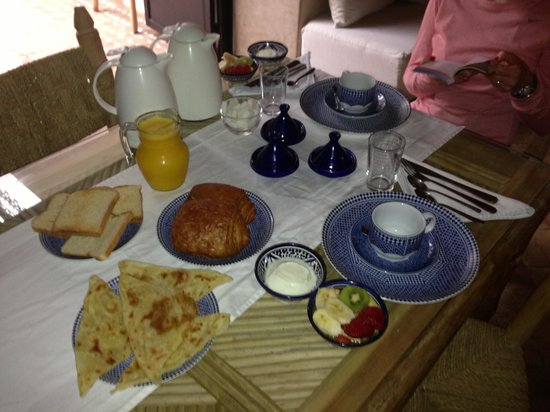 Riad Shambala: Breakfast