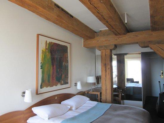 Copenhagen Admiral Hotel: Chambre avec vue sur le port