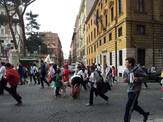 Locanda al Viminale: maratona  di Roma