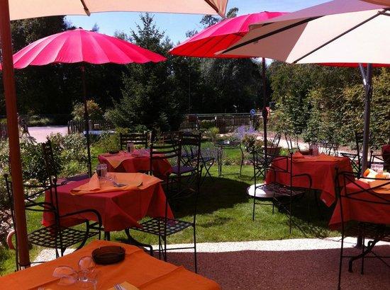 La Gentilhommiere: la terrasse