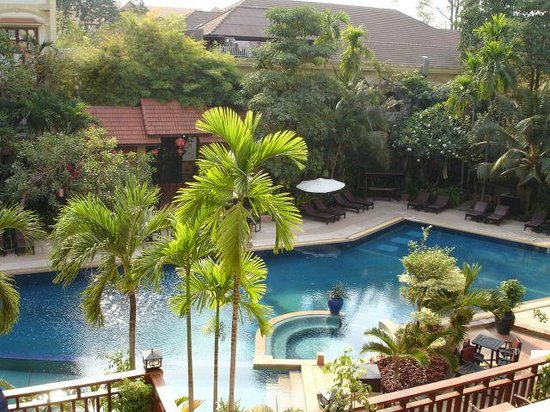 Prince D'Angkor Hotel & Spa: View from room