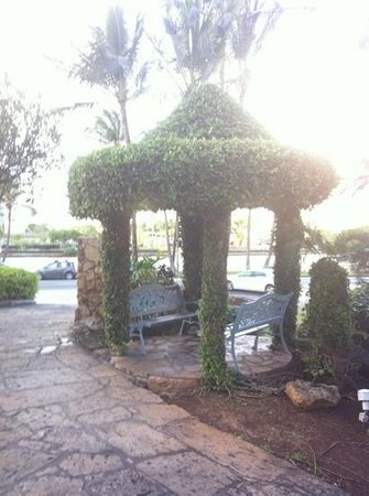 Coconut Waikiki Hotel: 喫煙エリア