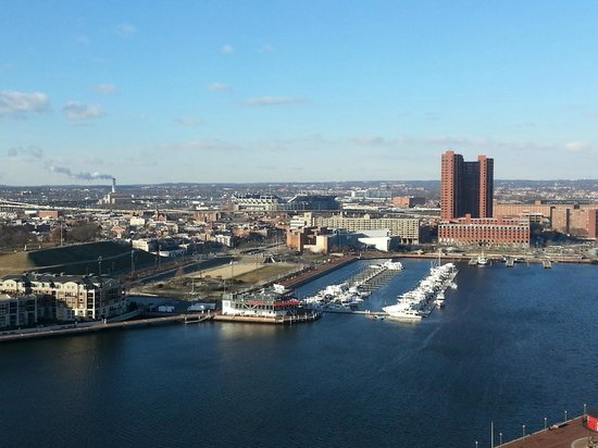 Baltimore Marriott Waterfront: great veiw