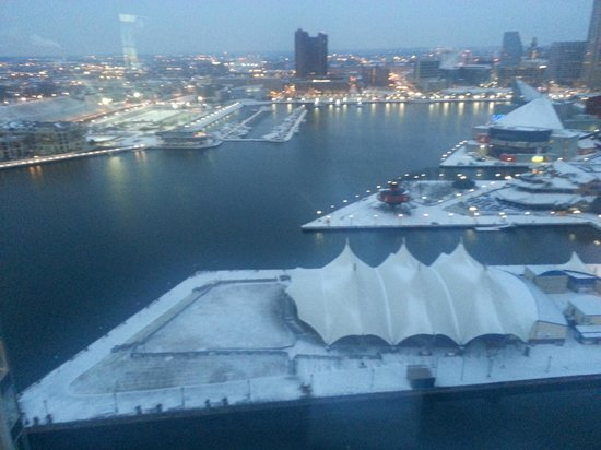 Baltimore Marriott Waterfront : great view