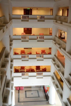 New York Hotel: each level