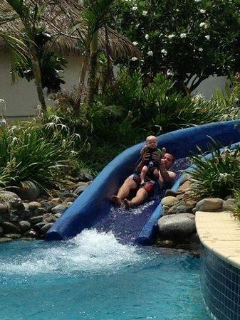 Sofitel Fiji Resort & Spa: Water slide fun