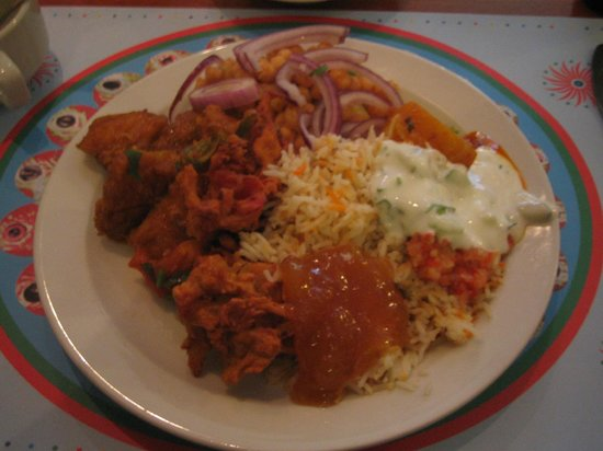 Zainab Roshni Mahal: A sample from the diverse buffet