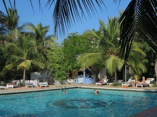 Sea Breeze Hotel : Blick zum Pool
