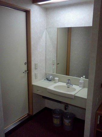Vessel hotel Kurashiki: 洗面台
