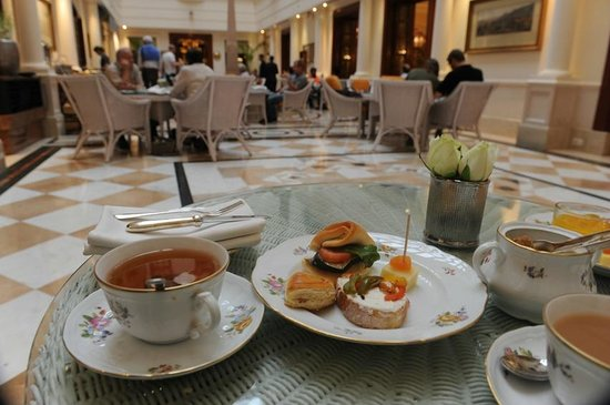 The Imperial Hotel: High tea