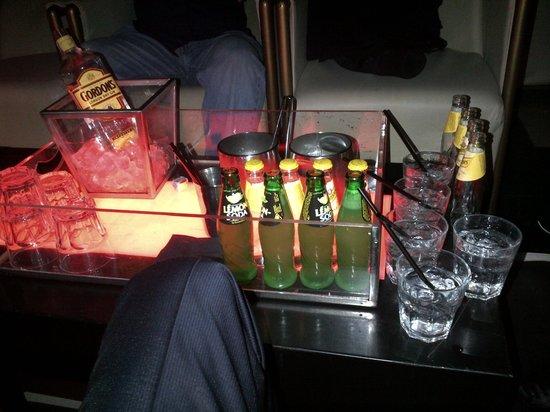 Nobu Milano: drinks
