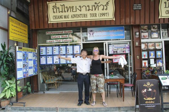 Chiang Mai Adventure Tour: Panom outside his office