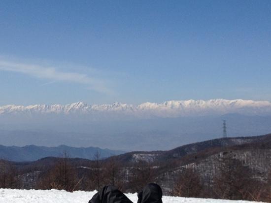 Sugadaira Kogen Ski Area : 上からの景色は絶景